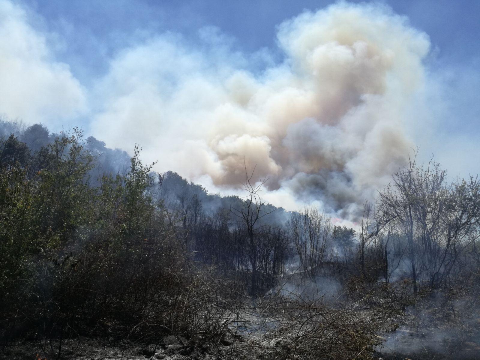 Anche nel Parco gli incendi non danno tregua