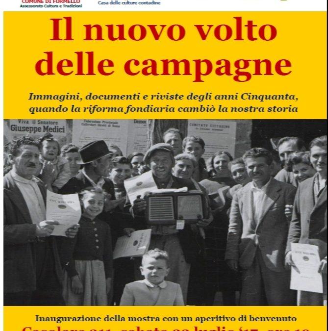 Mostra sulla riforma fondiaria al Casolare 311