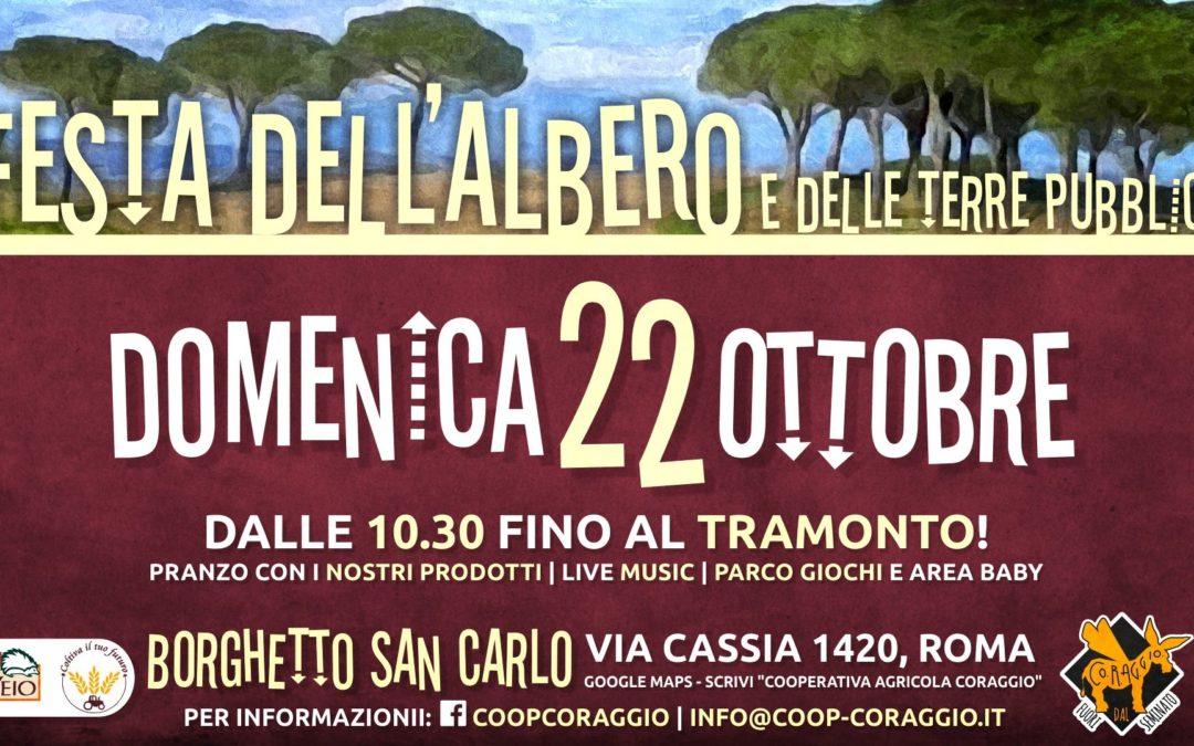 22 ottobre  – Festa dell'Albero a Borghetto San Carlo