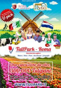 In arrivo Tulipark, giardino di tulipani alle porte di Roma